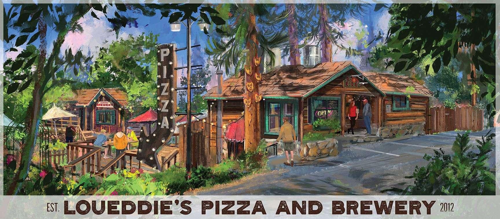 Lou Eddies Pizza