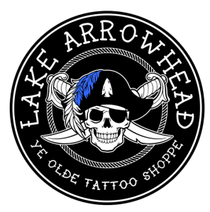 lake arrowhead tattoo and piercing shop san bernardino logo