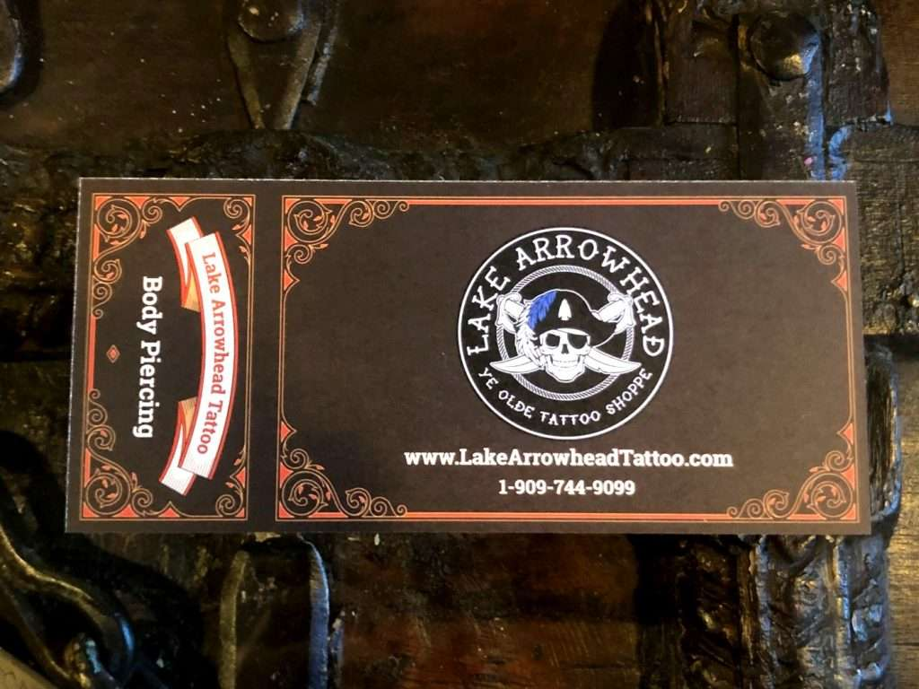 gift certificate lakearrowhead front